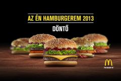 McDonald's - 'Az én hamburgerem' 2013