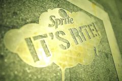 Sprite - It's rite inverz graffiti